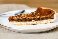 One slice of pie dessert Stock Photo