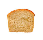 One slice of white bread Royalty Free Stock Photography