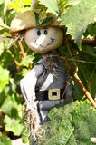 One Small Funny Scarecrow Stock Photography