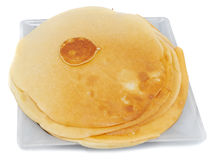 One small pancake Royalty Free Stock Photography
