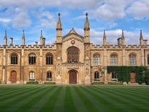 Cambridge University, Corpus Christi College stock images
