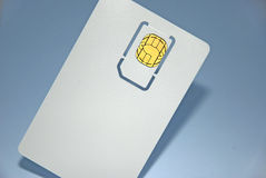 One smart card Stock Images