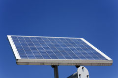 One solar panels Royalty Free Stock Image