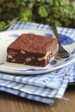 Brownie dessert Royalty Free Stock Images