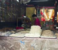 One of the stall at the Petaling Street Kuala Lumpur stock images