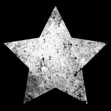 One Star Grunge Royalty Free Stock Photo