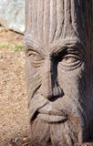 Man face garden statue at North Island Recovery Center, BC