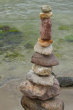 One stone tower Stock Photography