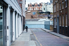 One street in London town Stock Photography