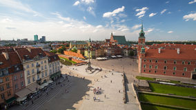 One of the street Warsaw Old town (Stare Miasto) is the oldest historic district of Warsaw Stock Photos