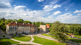 One of the street Warsaw Old town (Stare Miasto) is the oldest historic district of Warsaw (13th century) Royalty Free Stock Photos