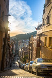 One of the streets in Barcelona. Barcelona is the capital city of Catalonia in Spain Stock Image