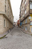 One of the streets in Istanbul Stock Photography