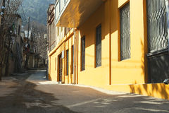 One of the streets in the Old Town of Tbilisi Stock Photo