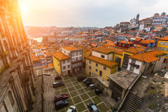 One of the streets of Porto old town Stock Photography