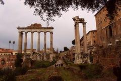 Rome - a romantic city in beautiful Italy stock photo