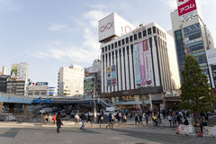 One of the streets of Ueno district Stock Photography