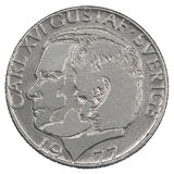 One Swedish Kronor coin Stock Image