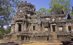 One of the temples in the area of ​​Angkor Wat Stock Photos