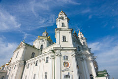 One of temples Pochayiv Lavra Royalty Free Stock Photos
