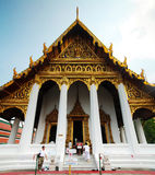 One of temples in Wat Phra Kaew Royalty Free Stock Image