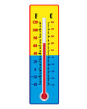 One thermometer Royalty Free Stock Images