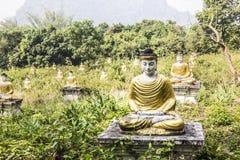 One thousand Buddhas Stock Photo
