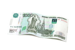 One thousand Russian rubles Stock Photography