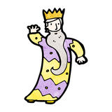 One of the three kings cartoon Royalty Free Stock Images