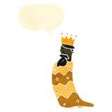 one of the three kings retro cartoon Royalty Free Stock Photos