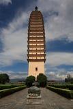 One of the Three Pagodas. Dali city ,china Royalty Free Stock Photos
