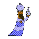 One of the three wise men Royalty Free Stock Image
