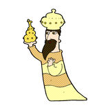 One of the three wise men Royalty Free Stock Photo