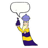 One of the three wise men with speech bubble Royalty Free Stock Photos