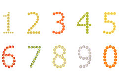 One to zero number Stock Images