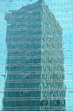 One Tower Mirrored in Another Building Royalty Free Stock Photography
