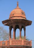 One of towers in agra fort Stock Image