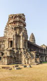 One of the towers in Angkor Wat, Siem Reap, Cambodia. Stock Images