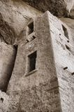 Cliff dwelling details Royalty Free Stock Photo