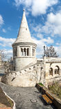 One of the towers of Fishermans Bastion in Budapest Stock Photography