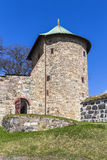 One of the towers of the fortress of Akershus Royalty Free Stock Photography