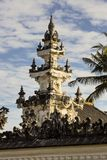 One of the towers of Hindu temple Toyopakeh, Nusa Penida, Indonesia Royalty Free Stock Photography