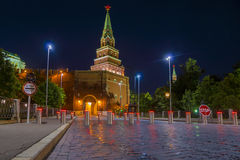 One of the towers of the Moscow Kremlin, Russia Stock Photos