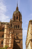 One of the towers of the New Cathedral of Salamanca, Spain, UNES Stock Photos