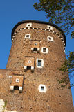 One of the towers of Wawel Stock Images