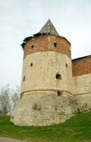 One of towers of Zaraysk kremlin Stock Image