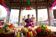 One of the traditional festivals in Vietnam Stock Photo