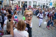 Festival of Ostrava streets parade 2017 Stock Photo