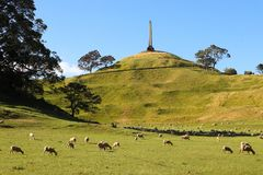 One Tree Hill, Auckland, New Zealand 2 Royalty Free Stock Images