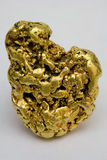 One Troy Ounce California Gold Nugget. One troy ounce California placer gold nugget - Natural gold specimen Royalty Free Stock Images